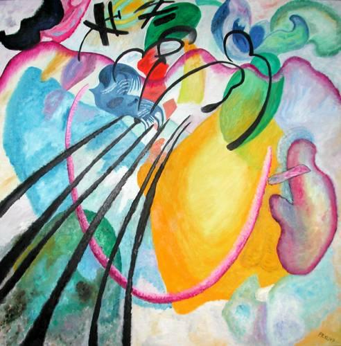 """""""Improvvisazione 26"""" di Vasily Kandinsky, 1912"""